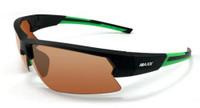 Maxx HD MAXX4 HD Polarized Sunglasses Sun Protection MAXX4-BKGN (Black/Green)