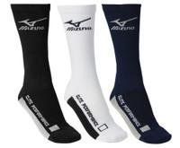 Mizuno Core Crew Volleyball Lacrosse Baseball Padded Sock Sport 480176