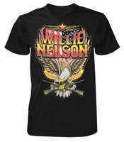 Willie Nelson Shotgun Willie T-Shirt Tee Rock n Roll Bands Tour Country ZRWN1011