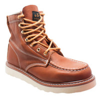 "AdTec Men's Men's 6"" Moc Soft Toe Work Boot Lace Leather Hiker Hiking 9238L"