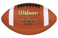 Wilson Slick Training Football Simulate Wet Condition Practice Trainer WTF1245IB