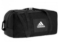 Adidas Team Carry Sport Duffle Duffel Equipment Messenger Bag Black Adult 993948