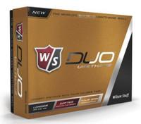 Wilson Staff Duo Urethane Golf Balls Softest 55 Compression 12-Pack WGWP39100