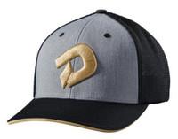"Demarini Champions Gold ""D"" Flex Fit Hat Cap Mesh Back Baseball WTD1081HG"