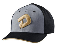 "Demarini Champions Gold ""D"" Flex Fit Hat Cap Mesh Back Baseball WTD1081HG"