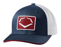 Evo Shield Rank Flex Fit Hat Cap Relaxed Mesh Back Baseball Patriotic WTV8726NR