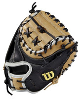 "Wilson Baseball 33.5"" A2000 M1SS Catcher Glove Mitt Superskin RHT WTA20RB19M1SS"