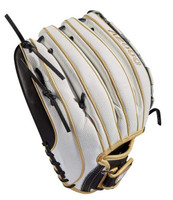 "Wilson Fastpitch Softball 12.50"" Glove Mitt Outfield A2000 V125 Superskin RHT"