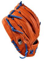 """Wilson Baseball 11.50"""" Glove Mitt Infield Pitcher A2000 1789 2018 RHT Orange"""