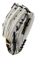 "Wilson Slowpitch Softball 13"" Glove Mitt Utility A2000 SP 2018 LHT White/Gold"