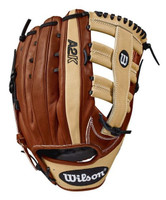 Wilson Baseball 12.75 A2K 1775 Glove Mitt Outfield Single Post LHT WTA2KLB181775
