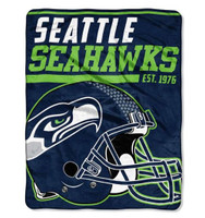 "The Northwest NFL 40 Yard Dash Micro Raschel 46""x60"" Blanket, Seattle Seahawks"