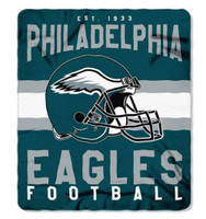 "The Northwest NFL Fleece Singular 50""x60"" Throw Blanket, Philadelphia Eagles"
