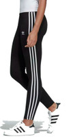 Adidas Women's 3 Stripe Tight Leggings Pants Joggers Athletic Pant Black CE2441