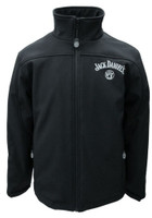Jack Daniels Men's Soft Shell Jacket Coat Zip Logo Whiskey Liquor 15241090JD-89