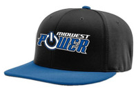 Midwest Power Richardson PTS20 Hat Fitted Baseball Cap Royal/Black PTS20