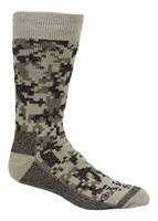Cameo Men's Thermal Wool Blend Crew Socks w/ Reinforced Durable Sole 4706