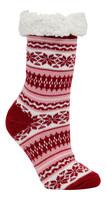 Polar Heat Women's Polar Heat Acrylic Thermal Winter Socks w/ Anti-Skid 4357