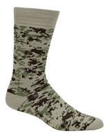 Cameo Men's U.S Army All Season Acrylic 2pk Combo Crew Socks, Olive or Sand 4704