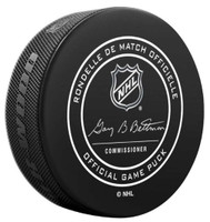 Inglasco NHL Minnesota Wild Regular Season 960T Official Game Puck Cube Black