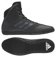Adidas Youth Boys Kids Mat Wizard 4 Wrestling Mat Shoe Lace Up 2 Colors AH2135