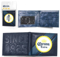 Corona Beer Crowned Logo Since 1925 Bi-Fold Wallet Beer Bar REX-CORONAWALLET