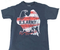 USA ARMY American Eagle Patriotic T-Shirt Tee Military Branch REX-USAARMYEAGLE