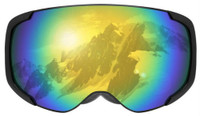Maxx Mogul Snow Goggle Eyewear Eye Sun Protection Skiing Slopes Ski Snowboard