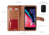 Rawlings Universal Magnetic Phone Case Wallet Baseball w/ Tab Black RO90000-001