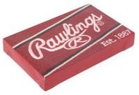 Rawlings MLB Baseball Dyed Yarn Traveling Bears Pattern Throw Blanket 70 x 53