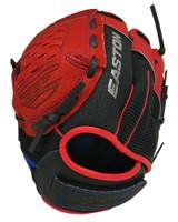 "Easton Youth 10"" ZFX Utility Baseball Ball Glove Full Woven Web ZFX1000RDRY LHT"