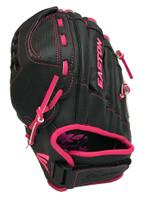 "Easton Fastpitch Softball Youth 11.5"" ZFlex Utility Glove Full Web ZFXFP1150 LHT"