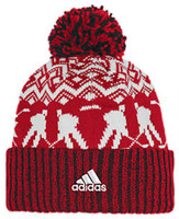 Adidas Men's NHL Chicago Blackhawks Stocking Knit Hat Beanie Winter Red 11FIZ