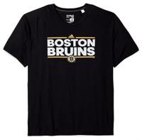 Adidas Men's Boston Bruins National Hockey League Tee Shirt NHL Dassler 7BBRWTS