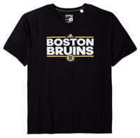 Adidas Men's Boston Bruins National Hockey League Tee Shirt NHL Dassler 7BBRWTS