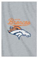 The Northwest NFL Denver Broncos Stadium Sweatshirt Throw Blanket Spread CO