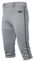 Rawlings Mens Adult Launch Baseball Pants Piped Knicker Short Style LNCHKPP