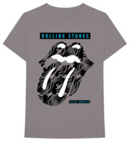 Rolling Stones Steel Wheels Band Tour Tongue Logo Adult Tee Rock n Roll 31270909