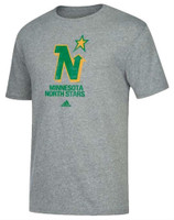 Adidas Men's Minnesota North Stars NHL Retro Hockey Tee Shirt Heritage MNS6HOY