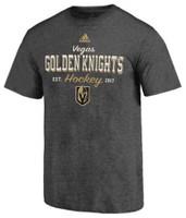 Adidas Men's Las Vegas Golden Knights NHL Hockey League Tee Shirt Sender LVSFMM2