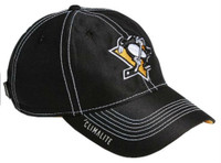 Adidas NHL Hockey Pittsburgh Penguins Cap Hat Slouch Dobby ADJ Climalite CY1107