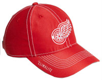 Adidas NHL Hockey Detroit Red Wings Cap Hat Slouch Dobby ADJ Climalite CY1166
