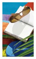 Sunglasses Fiber-Reaction Printed Beach Towel - 30 x 60 inches 10533