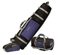 Samsonite 3 Piece Golf Set Soft Travel Cover Shoe Bag Duffel Luggage Wheels 700