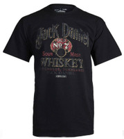 Jack Daniels Men's Daniel's Sour Mash Whiskey Graphic Tee T-Shirt 15261438JD-89