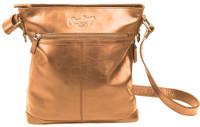 Rawlings Women's Baseball Stitch Crossbody Bag Purse 11.5 x 13 Tan RB60002-204