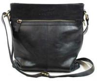 Rawlings Women's Baseball Stitch Crossbody Bag Purse 11.5 x 13 Black RB60002-001
