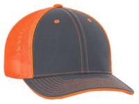 Pacific Headwear Trucker Flexfit Cap Hat Moisture-wicking 3 Sizes Colors 404M