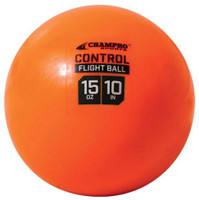 "Champro Control Flight Ball 10"" Baseball/Softball 15 oz. Box 0f 12 Orange CSB93"