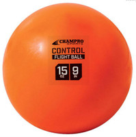 "Champro Control Flight Ball 9"" Baseball/Softball 15 oz. Box 0f 12 Orange CBB91"